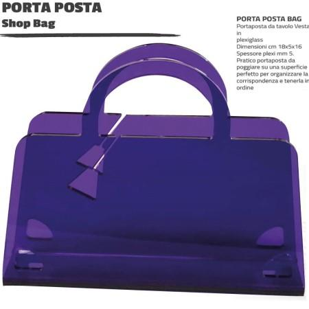 PORTA POSTA 'SHOP BAG' 15,5X4X15,5 ART 0750318